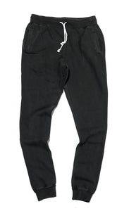 "M&N ""BRANDED"" PIGMENT DYED JOGGERS (PIGMENT BLACK)"