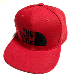 "TROUBLEZ ""EASTSIDE"" SNAPBACK (RED)"