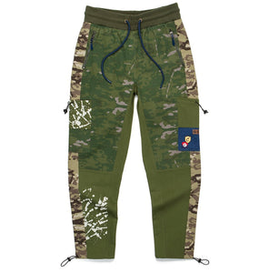 "COOKIES ""BACKCOUNTRY"" COTTON CANVAS CARGO PANTS"