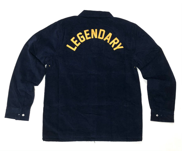 "M&N ""LEGENDARY"" COURDUROY JACKET (NAVY)"