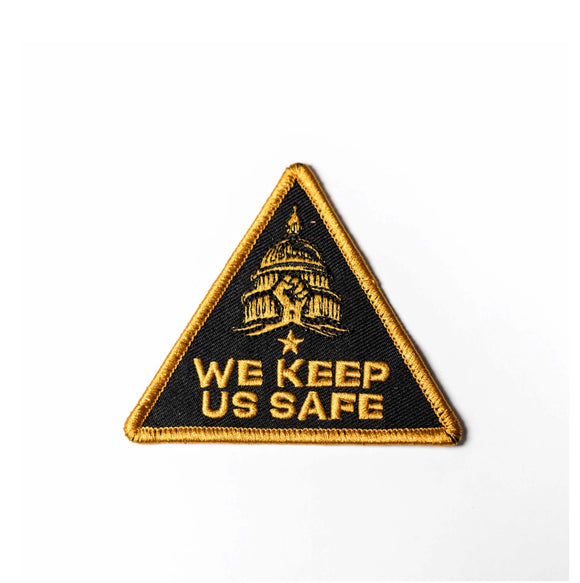 "GOOD DOPE ""WE KEEP US SAFE"" PATCH"