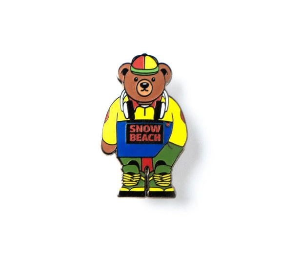 "GOOD DOPE ""SNOW BEACH"" PIN"