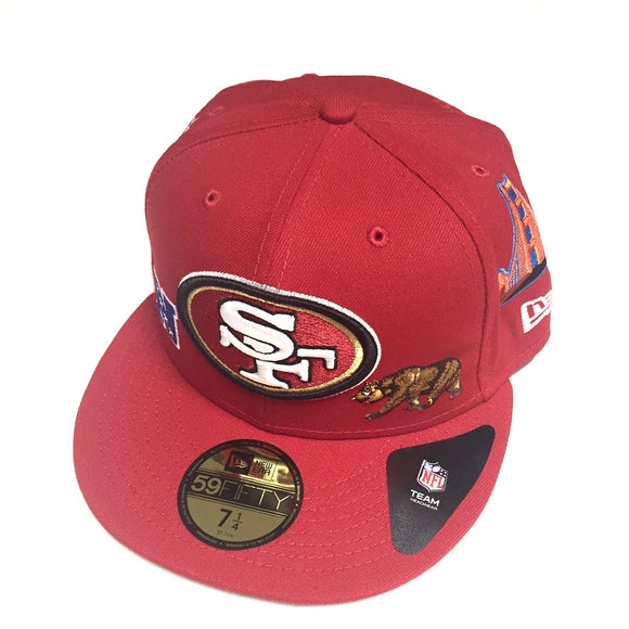 "NEW ERA ""LOCAL ICONS"" SF 49ERS FITTED HAT"