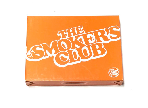 THE SMOKERS CLUB X GLOWTRAY (ORANGE)