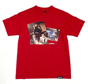 "COOKIES X GOODFELLAS ""COLLAGE"" TEE (RED)"