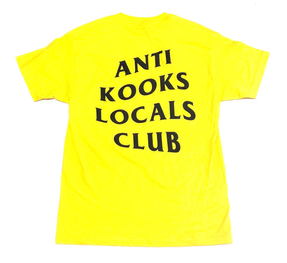 "SFC ""ANTI KOOKS"" TEE (YELLOW)"