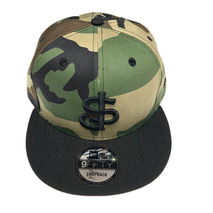 "NEW ERA ""SJ GIANTS"" SNAPBACK (WOODLAND CAMO/BLACK)"