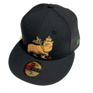 "SFC ""CA BEAR OF JUDAH"" FITTED HAT (BLACK)"