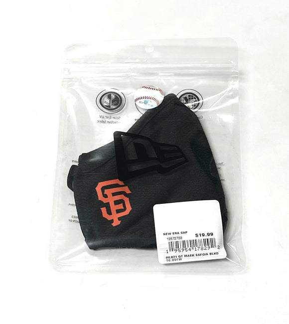 "NEW ERA ""OFFICIAL ON-FIELD"" SF GIANTS FACE MASK (BLACK)"