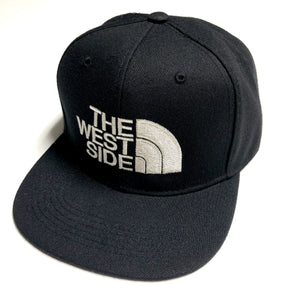 "TROUBLEZ ""WESTSIDE"" SNAPBACK (BLACK/SILVER)"