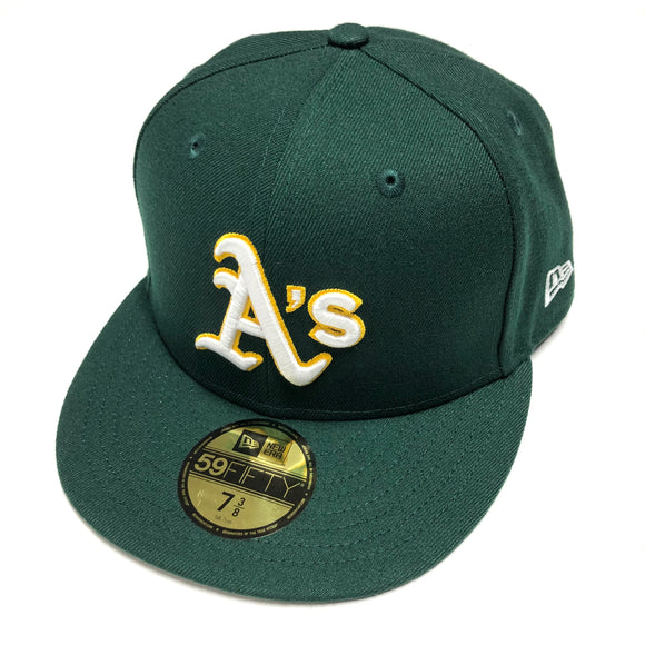 "NEW ERA ""ONFIELD AWAY"" OAKLAND A'S FITTED HAT"
