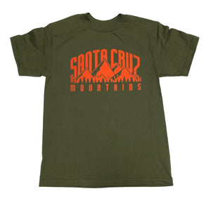 "SFC ""SC MOUNTAINS"" TEE (ARMY GREEN)"