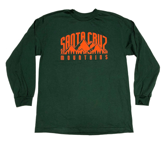 "SFC ""SC MOUNTAINS"" LONGSLEEVE TEE (FOREST GREEN)"