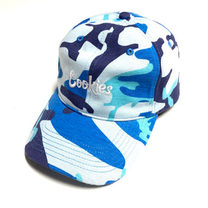 "COOKIES SF ""BATTALLION MULTI"" DAD HAT (BLUE)"