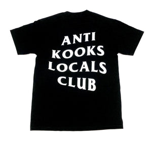 "SFC ""ANTI KOOKS"" TEE (BLACK/WHITE)"