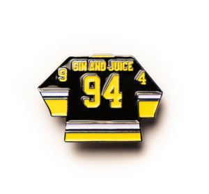 "GOOD DOPE ""JUICE AND GIN"" PIN"