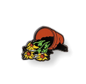 "GOOD DOPE ""BROKEN FLOWERS"" PIN"