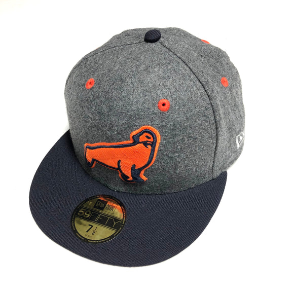 "NEW ERA ""SF SEALS"" NEW ERA FITTED (MELTON WOOL/NAVY)"
