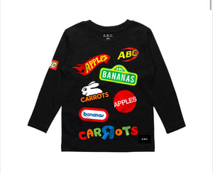"ABC KIDSWEAR ""ABC R US"" LS TEE"