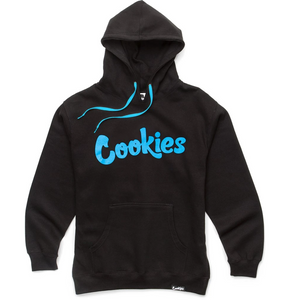"COOKIES SF ""THIN MINT BASIC"" HOODY (BLACK/BLUE)"