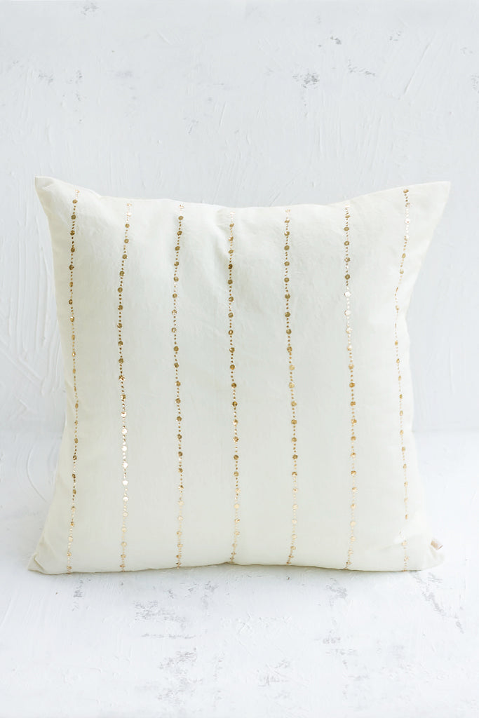 Nishaat Cushion Almond