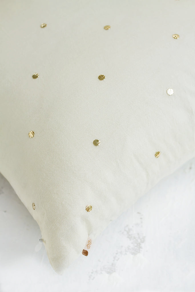 "Firdouz Cushion Almond - Petit (12""x12"")"