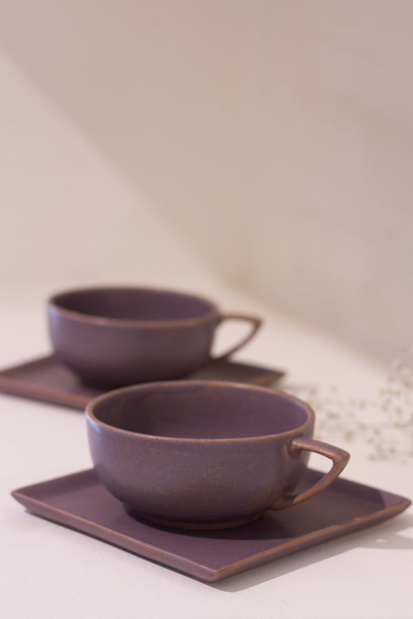 Musky Mauve Soup Set (Set of 2)