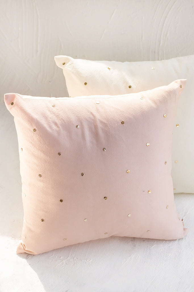 Firdouz Cushion Rose - Petit (12x12)