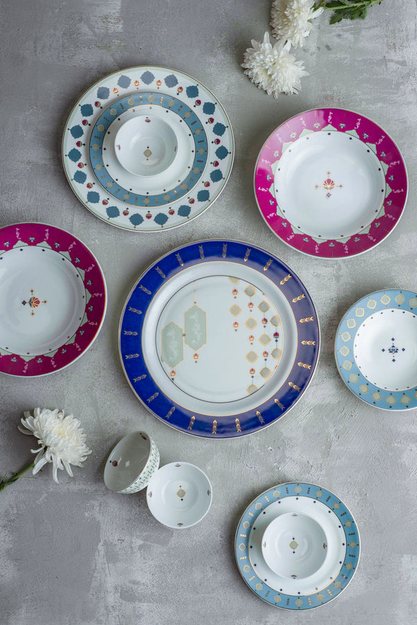 Agua Tierra Dinner Set (22 Pc)