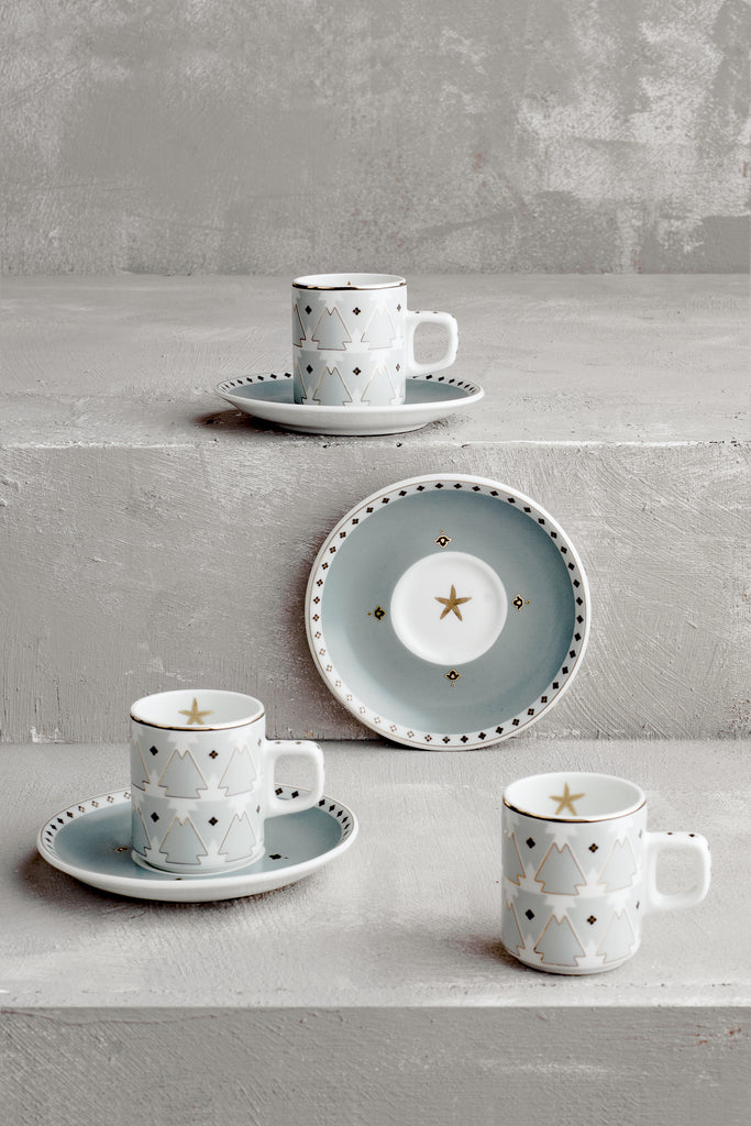 Agua Tierra Demitasse (Set of 2)