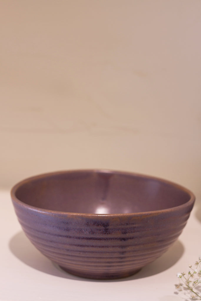 Tehueti Everyday - Musky Mauve Serving Bowl