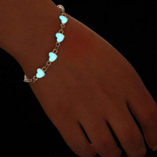 Luminous Heart Bracelet