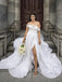Off-shoulder A-line Cheap Long Wedding Dresses Online,RBWD0022