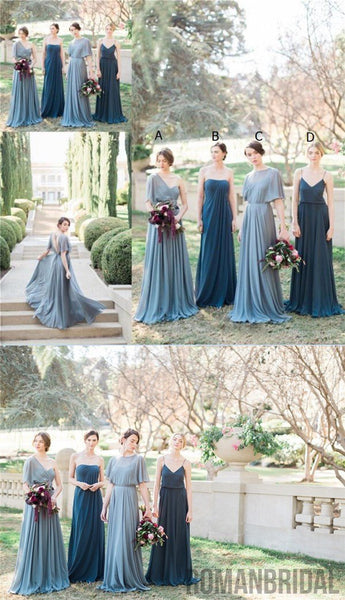 2018 Charming Most Popular Bridesmaid Dresses, Different Style Best Sales Bridesmaid Dresses Online, PD0301