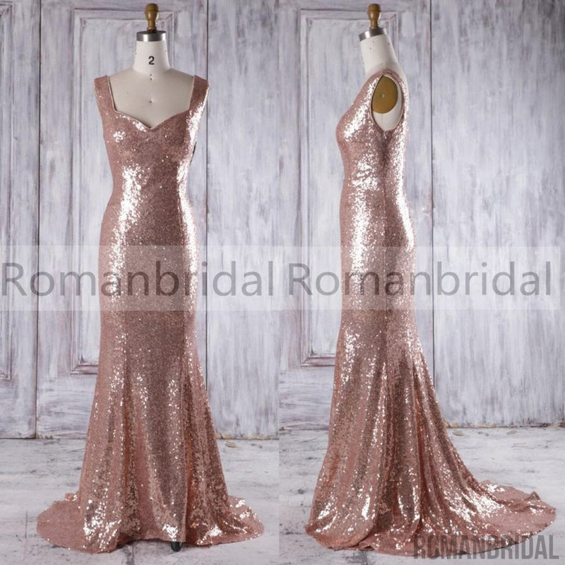 2018 Charming Sequin Sparkly Fashion Sleeveless Evening Dresses