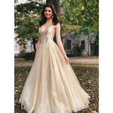 New Arrival Sweetheart Floor-length Long Tulle Prom Dresses, PD0669