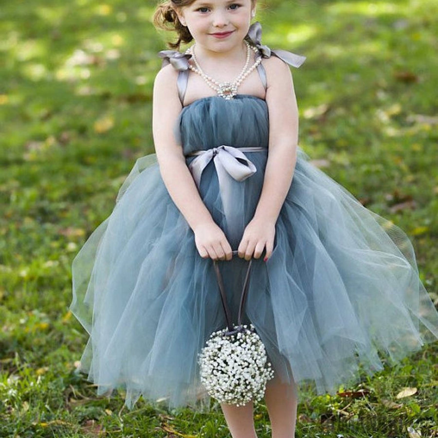 Flower girl dresses tagged blue junior bridesmaid dresses dusty blue pix tutu dresses tulle flower girl dresses cheap little girl dresses for ombrellifo Image collections