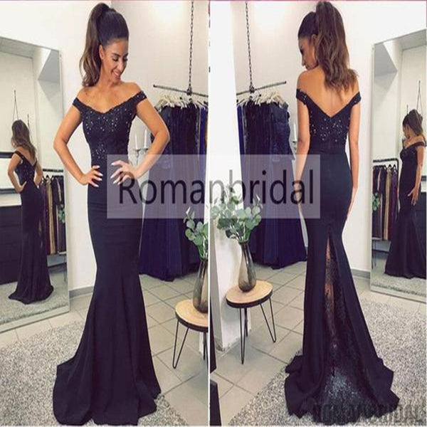 2018 Amazing Hot Lace Mermaid Prom Dresses 2018 Appliques Beaded Open Back Evening  Gown 37d2e3fa7939
