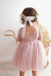 A-line Round Neck Long Sleeves Lace Flower Girl Dresses, FG0157