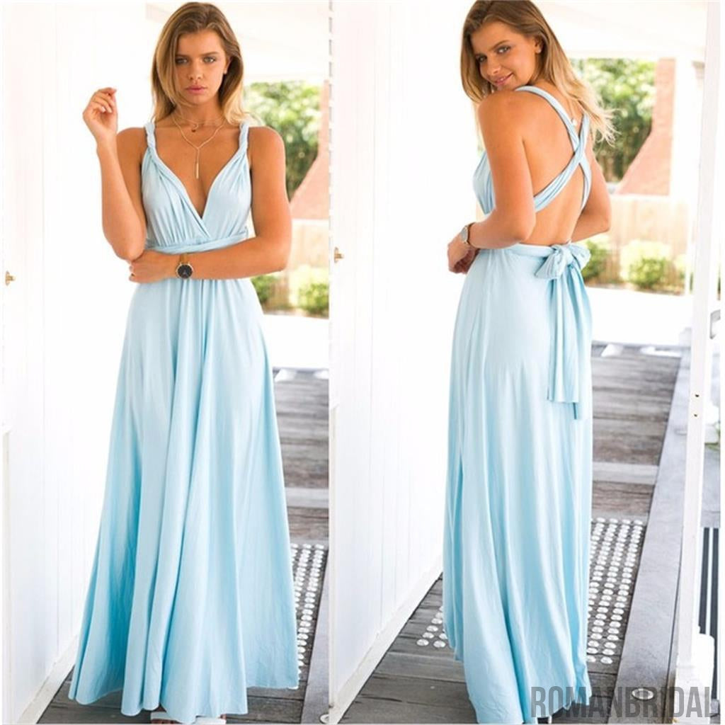 2018 new cheap affordable formal comfortable different color 2018 new cheap affordable formal comfortable different color convertible bridesmaid dresses pd0261 ombrellifo Images