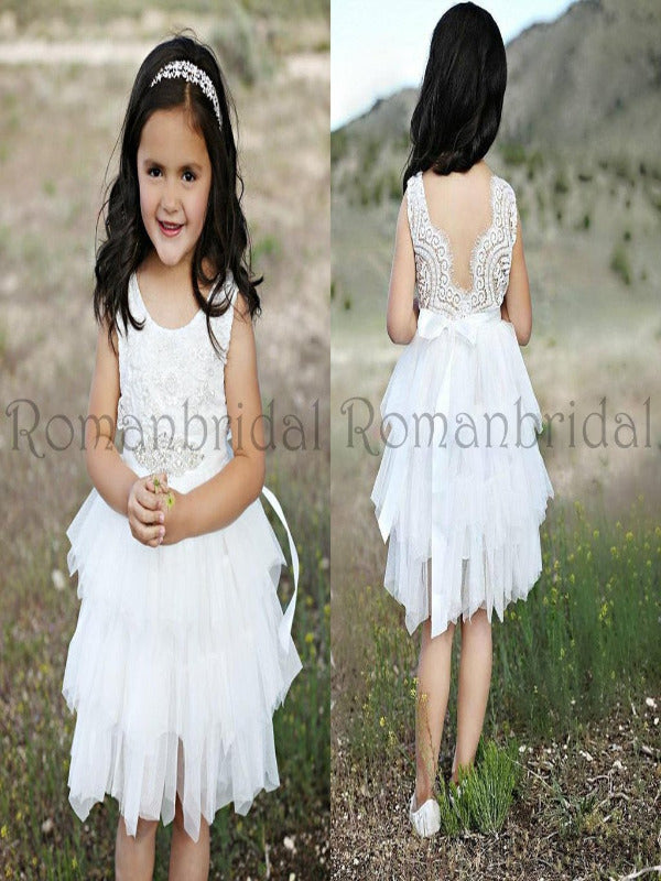 Beautiful Flower Girl Dresses Romanbridal