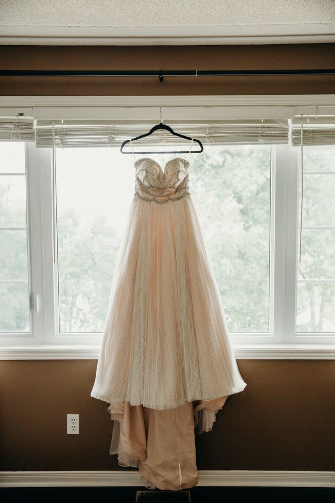 Sweetheart Beading Top Long Backless Chiffon Wedding Dresses, WD0434
