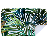 Microfibre XL Printed Towel - Green Ferns