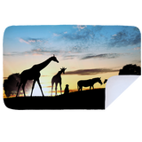 Microfibre XL Printed Towel - African Sunset
