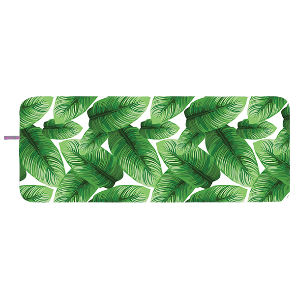 Microfibre Yoga Towel - Jungle Leaves