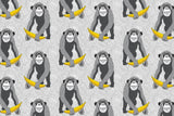 Microfibre XL Printed Towel - Banana monkey