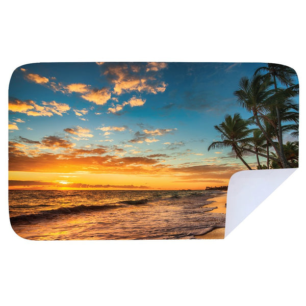 Microfibre XL Printed Towel - Island style