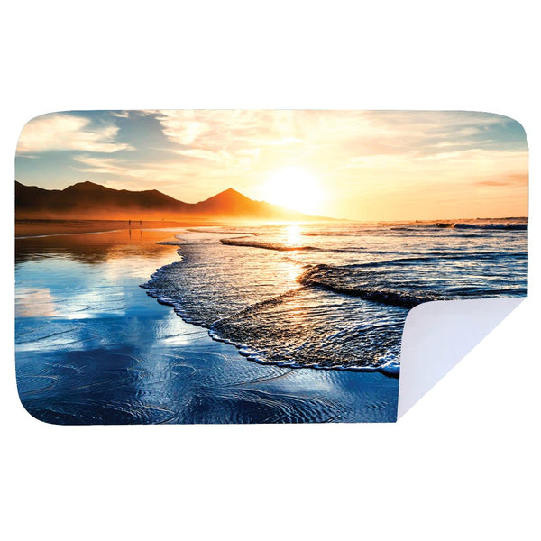 Microfibre XL Printed Towel - Peak Sunset