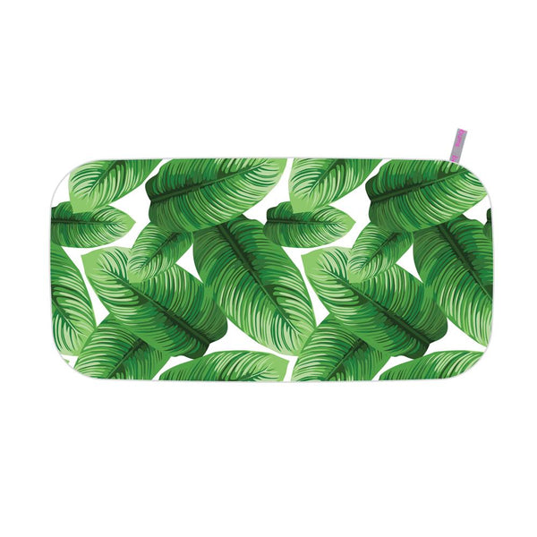 Microfibre Printed Gym Towel - Jungle leaves