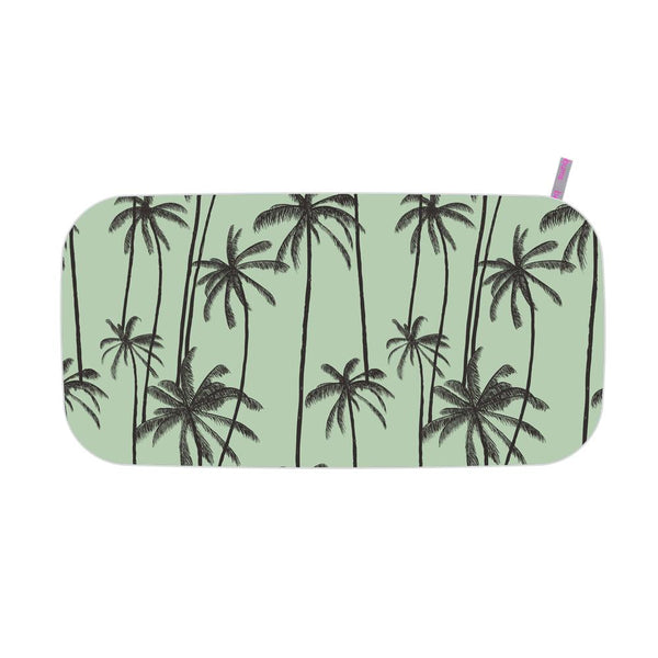 Microfibre Printed Gym Towel - Palm Trees